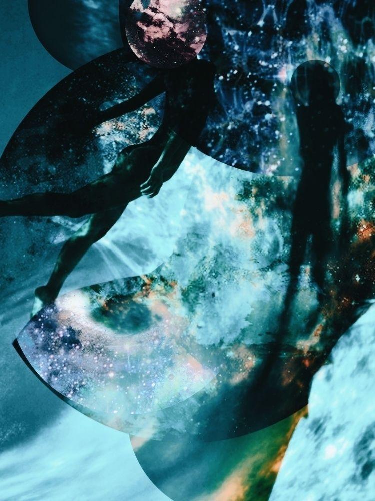 collage, art, spacetravel - pourpose | ello