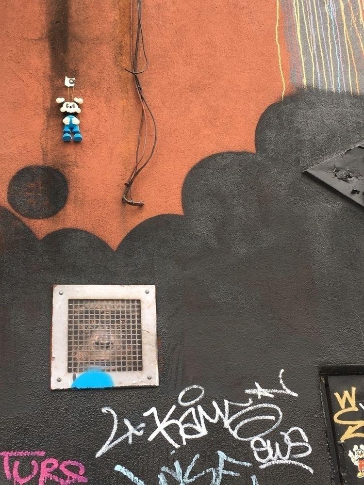 Kranyus street art installation - theodoru | ello