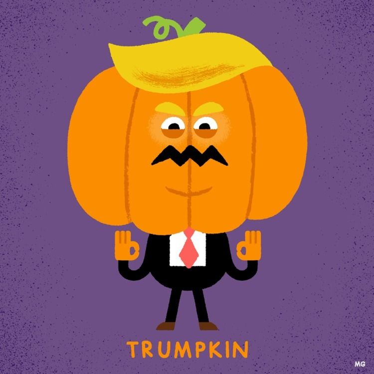 gonna HUGE scary) Halloween - trump - maurogatti | ello