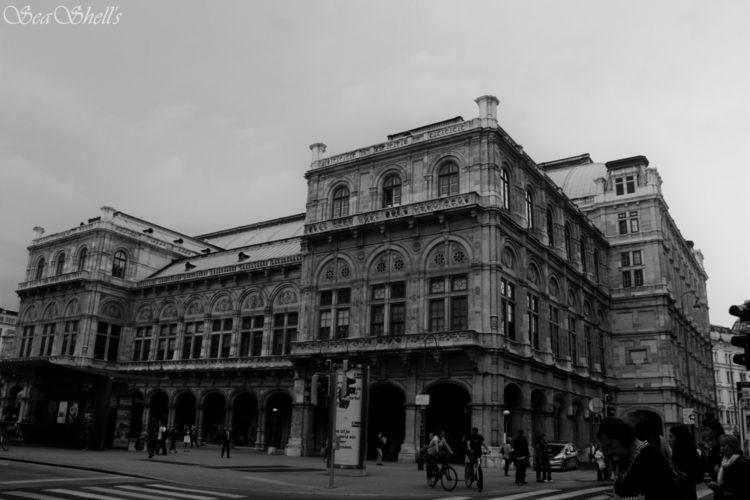 Karlsplatz Vienna, Austria - blackandwhitephotography - irseashell | ello