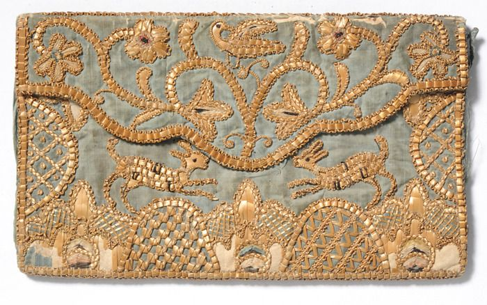 Straw Embroidery Early 19thC - design - modernism_is_crap | ello