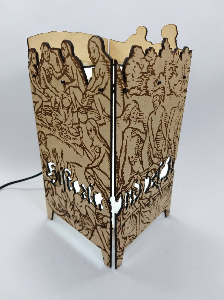 Lamp prototype - HANS STADEN 3  - miklosdesign | ello