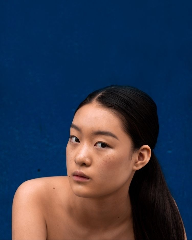 Blue  - asianmodel, model, beauty - sachbrownn | ello