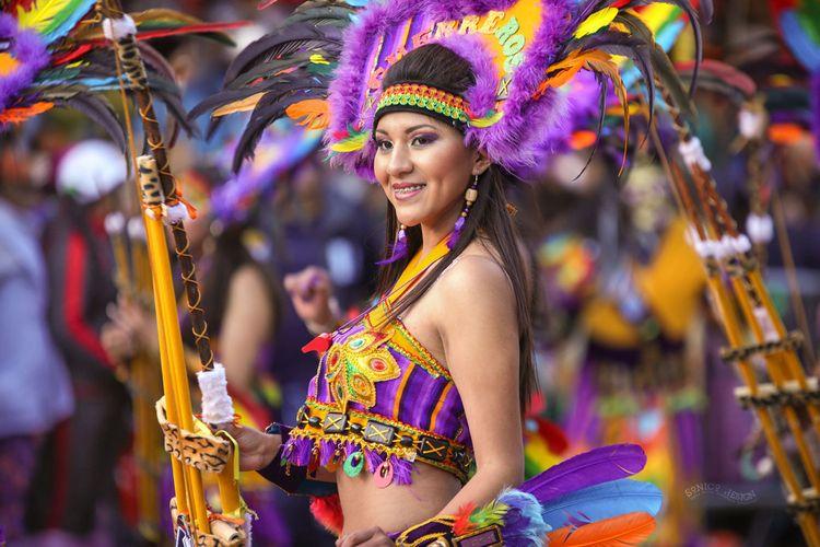Carnaval de Oruro Bolivia. webs - sonicodesign | ello