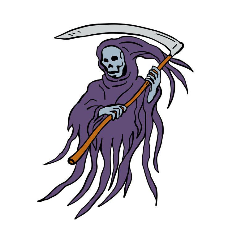 Grim Reaper Drawing - GrimReaper - patrimonio | ello