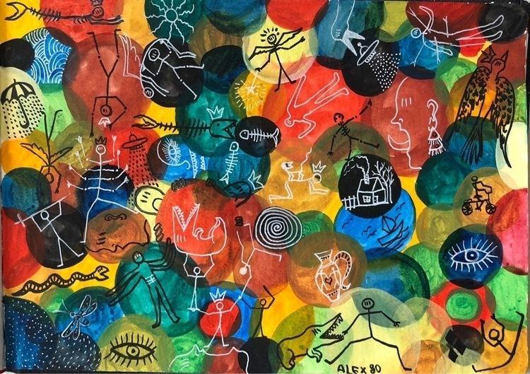 art, freeart, colors - alexerr | ello