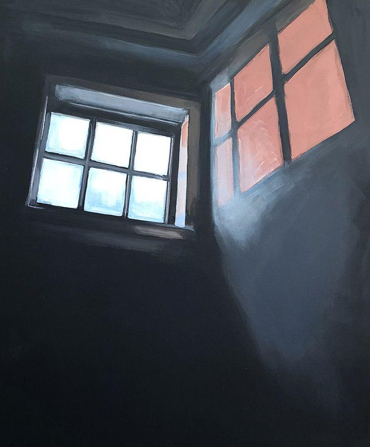 Dole Mansion Window 30X24 acryl - jeffbessart   ello