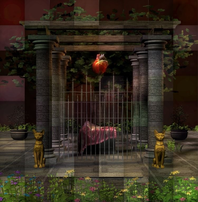 coffin heart, Jawek Kwakman 3D  - jawekkwakman | ello