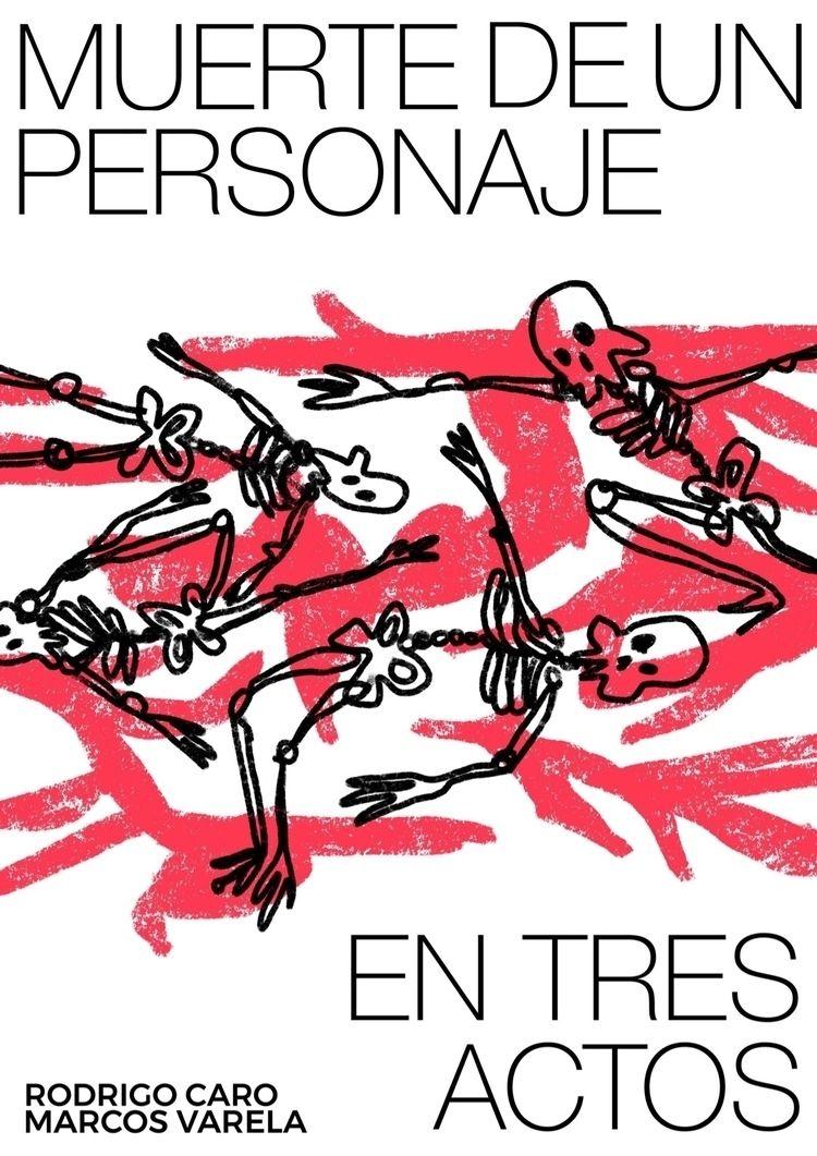Short film poster Muerte de per - elenareyna | ello