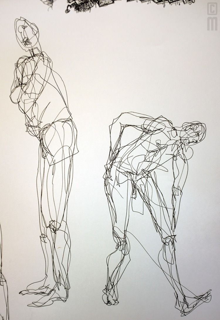 Chris, minute gesture poses, Oc - lenser | ello