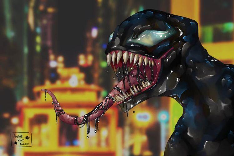 finally Venom. good movie, guys - angiekatneko | ello