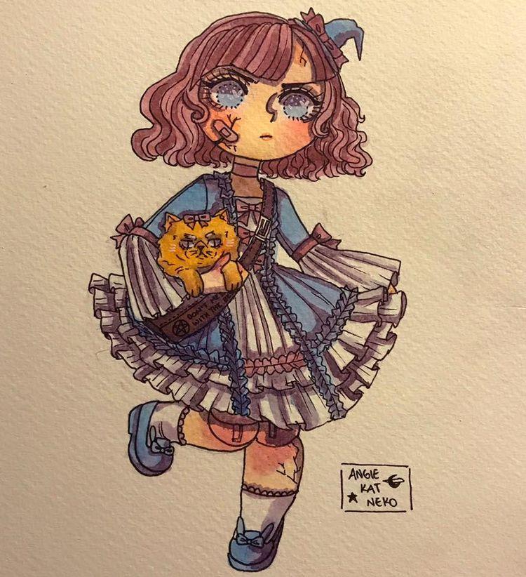 Inktober Day 20: Doll Witch - witchoposcule - angiekatneko | ello
