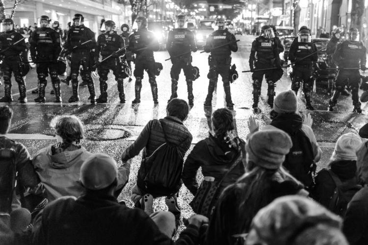 Assault: 1/20/17 Inauguration M - picturesofrevolution   ello
