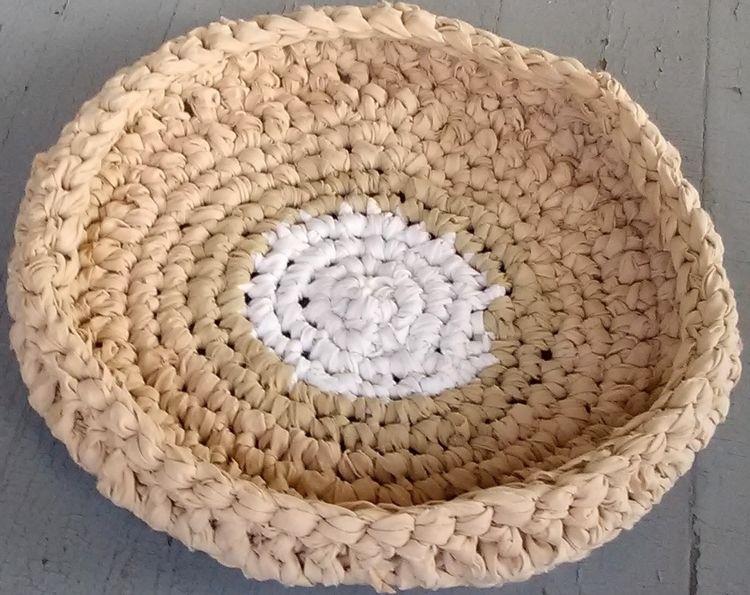 SOLD...Handmade Crochet Rag Cat - maryherrigfiberarts | ello