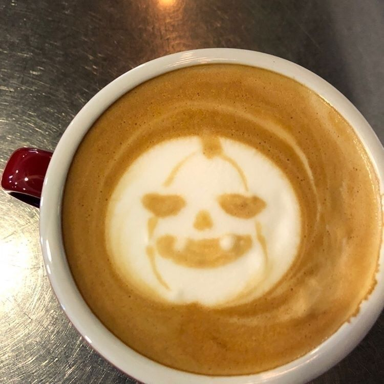 Halloween art - Happy, Latte - mamimumemami | ello
