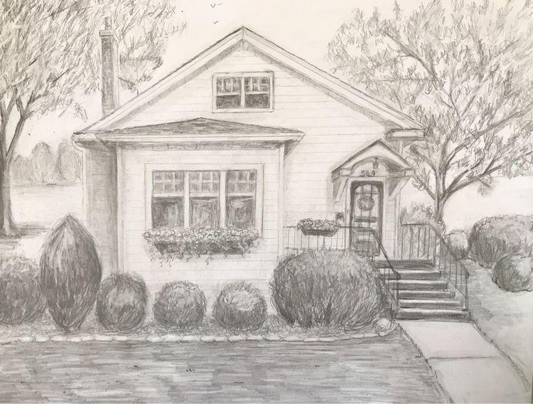 House Karen Exiner - exinerartstudio | ello