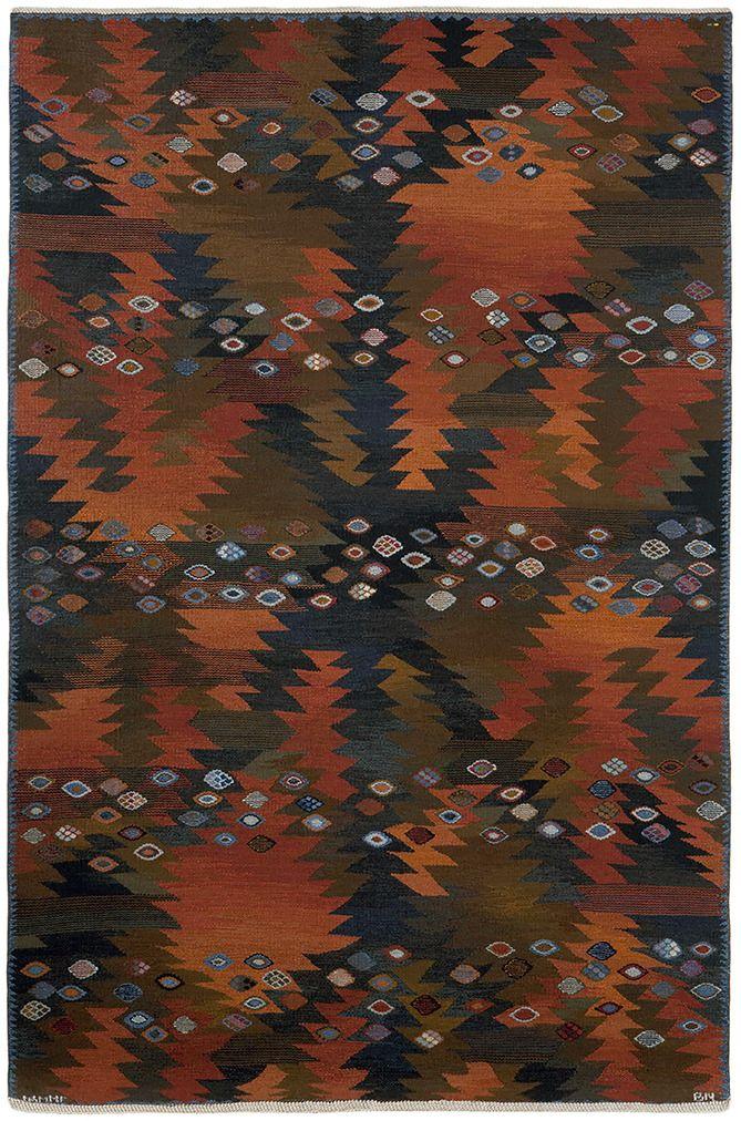 BARBRO NILSSON Tånga flat-weave - modernism_is_crap   ello
