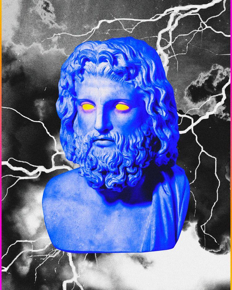 • Zeus Instagram Prints - Abstract - dorianlegret   ello