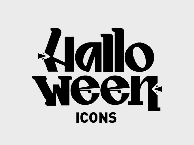 Logo Concept Halloween Icons Le - vincenzoop | ello