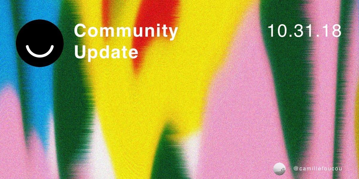Community Update 10/31/2018 Hap - elloblog   ello
