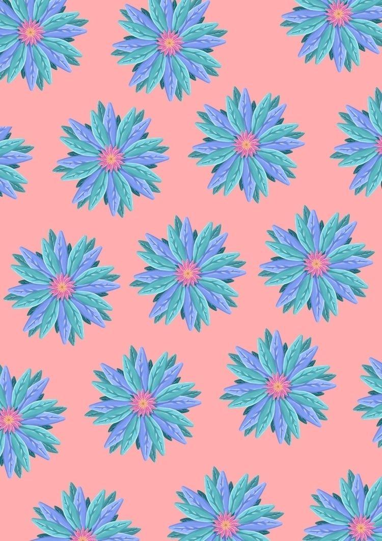 Illustration, pattern, minimal - shapes   ello
