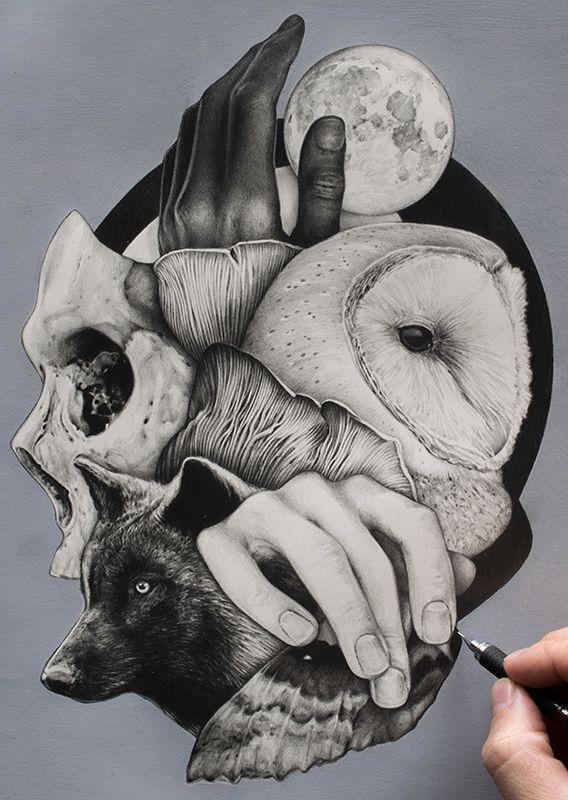 /// /#graphite paper study week - elder | ello