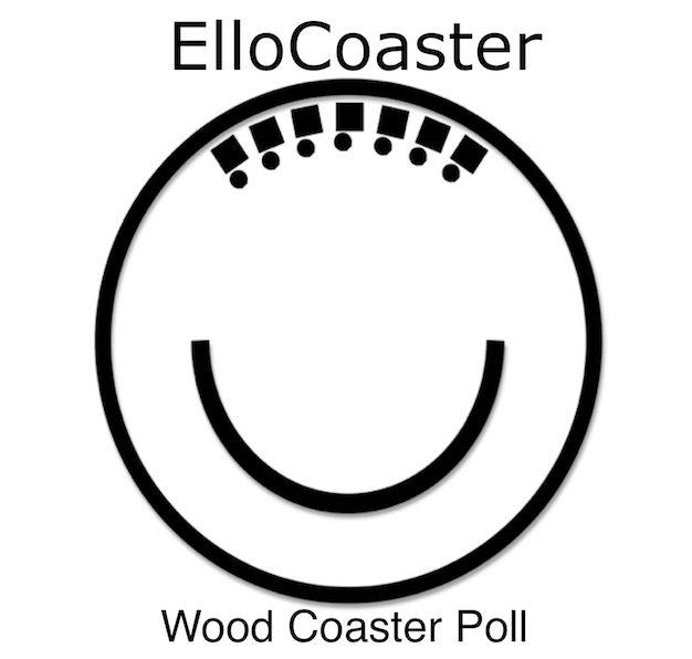 time Grab wooden coaster list,  - ellocoaster | ello