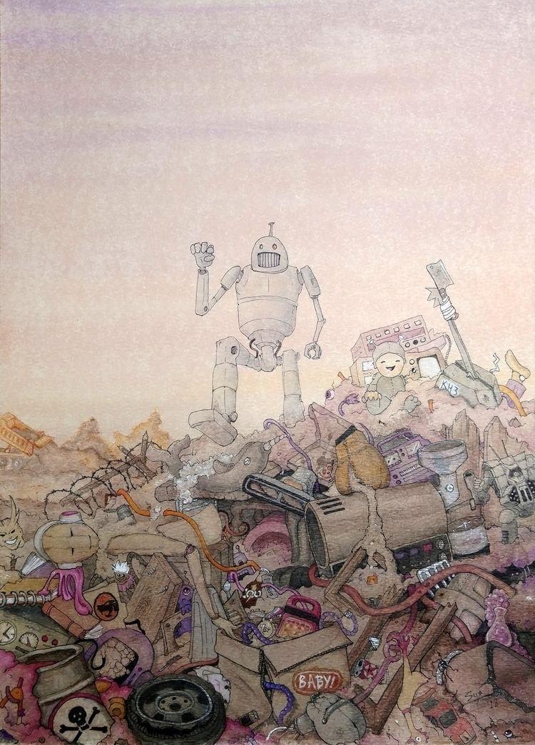 Working title, Pop Robot Junkya - sya | ello