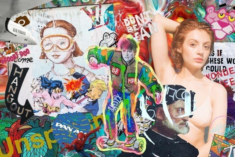 collage, digitalcollage, popart - lepunkroyal | ello