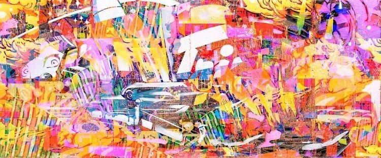 collage, digitalcollage, glitch - lepunkroyal | ello