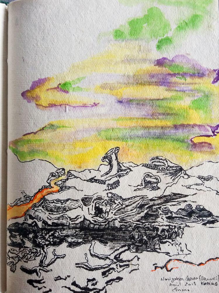 14x19cm paper, ink - Collection - numamang   ello