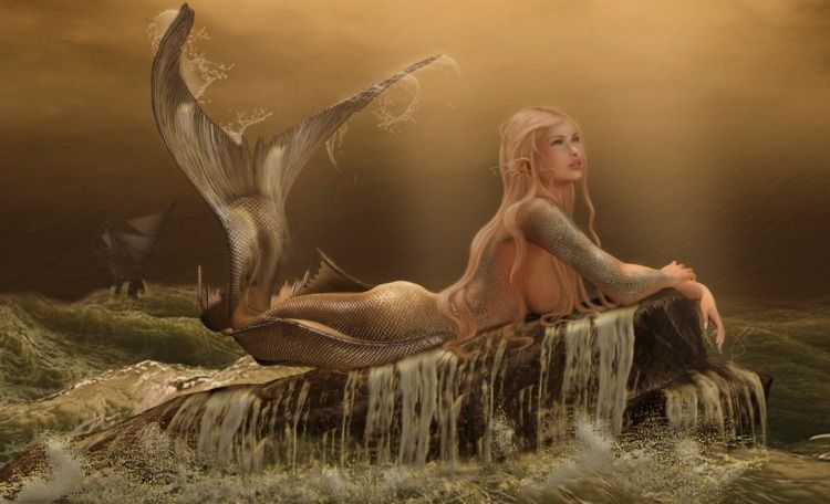 Mermaid truth breathe hands ice - kianajarman | ello