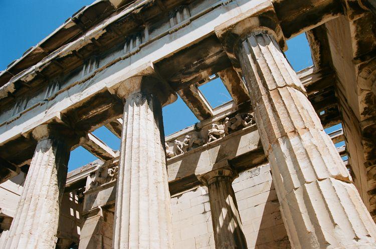 Parthenon 〜 Athens, Greece - filmphotography - ferreira-rocks | ello