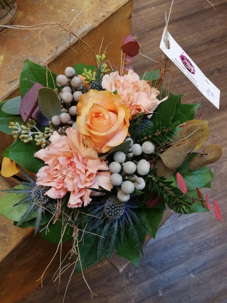 Blumenstrauß ventetta Nelken Ro - sanflower | ello