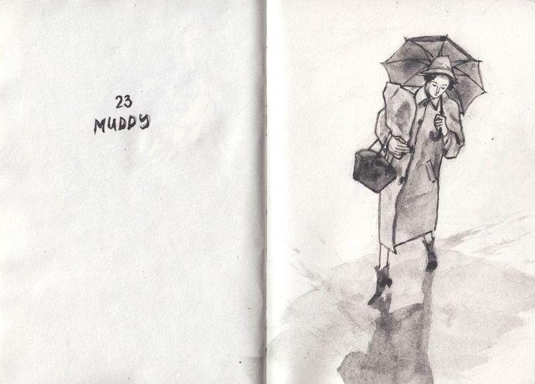 Inktober | 23 October 2018 Mudd - catsac | ello