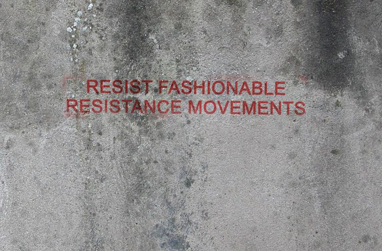 Resist, Resistance, Bored, RebelWithoutaClue - violex-products | ello