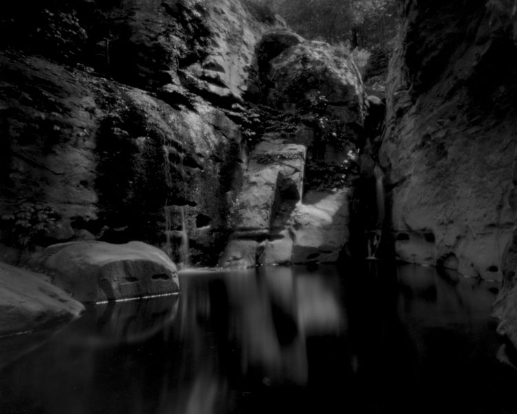 Silent rock pool ...Cascades, M - peterdegraaff | ello