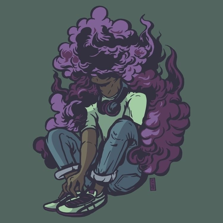 Purple Haze Mind - thomcat23 | ello