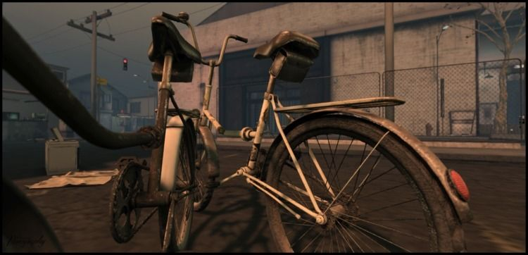 Nutmeg ~ - secondlife, bicycle - vivography | ello