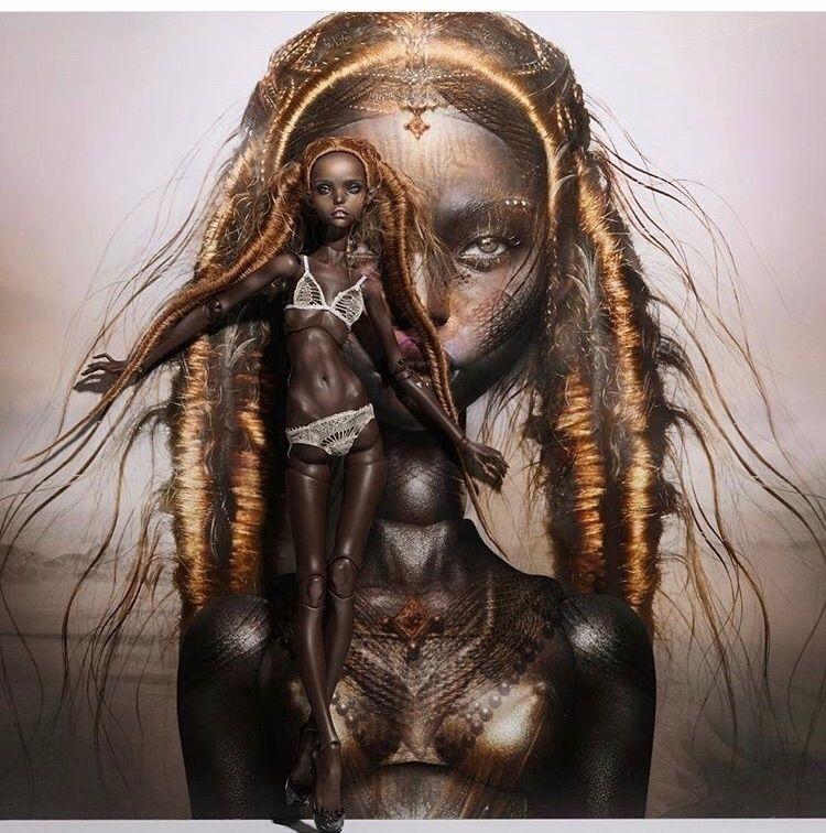 stunning collaboration . doll I - julia_mji | ello