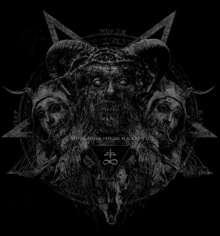 Icons Evil - Work progress - nestoravalosart - nestoravalosofficialblackartssite | ello