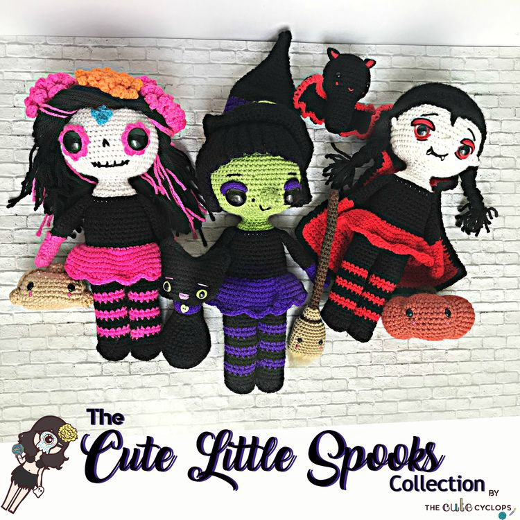 Giveaway time! Win set amigurum - thecutecyclops | ello
