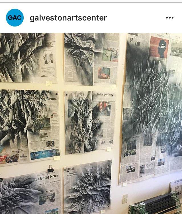 galvestonartscenter: Sneak peek - renatalucia   ello