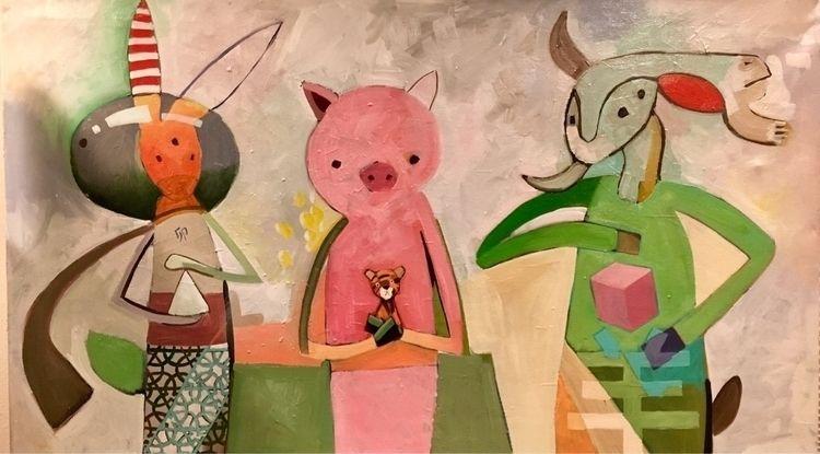 art, painting, chinesezodiac - bilchamberlin | ello