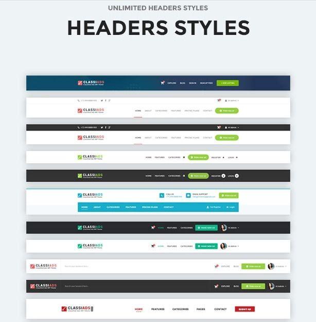 Premium Classified Wordpress Th - classiads_classified_wordpress_theme | ello