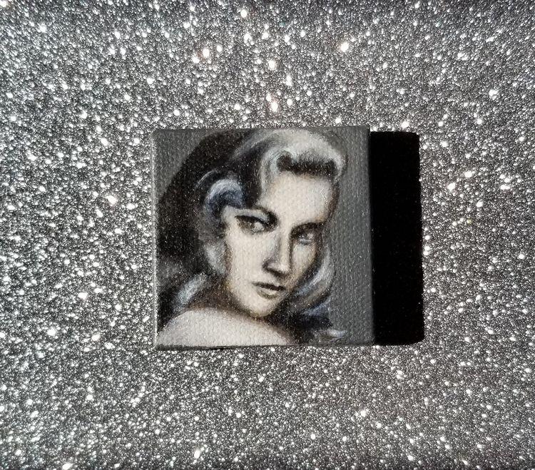 Miniature portrait oil painting - nora_ | ello