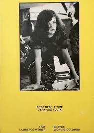 Lawrence Weiner Giorgio Colombo - bintphotobooks | ello