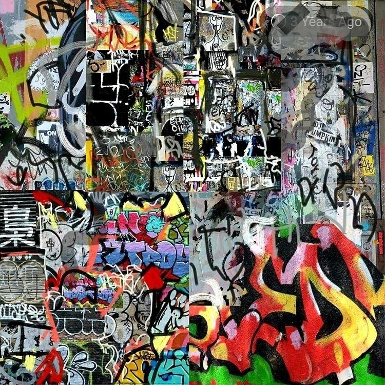 STREET ART NYC DRAWING/PAINTING - bryder | ello