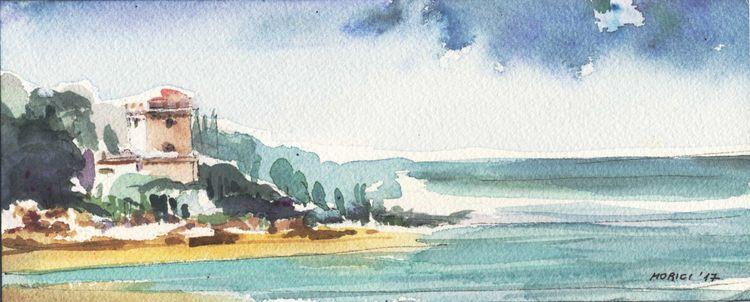 Landscape 4 - acquerello - LucaMorici - lucamorici | ello