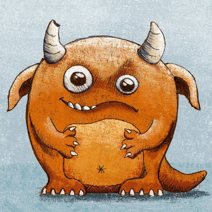 Sketch 008 - Yay monsters. Love - 999sketches | ello
